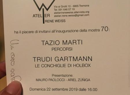 Trudi Gartmann e Tazio Marti